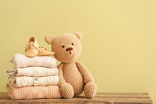Teddy Bear and baby things