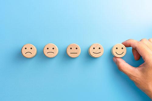 Wooden block emojis